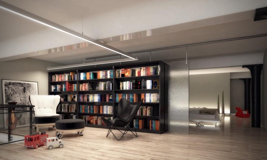 Loft projecten m one - Mezzanine verlichting ...